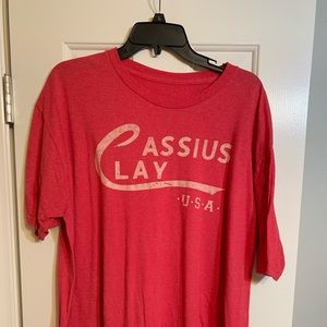 Cassius clay 2XL shirt